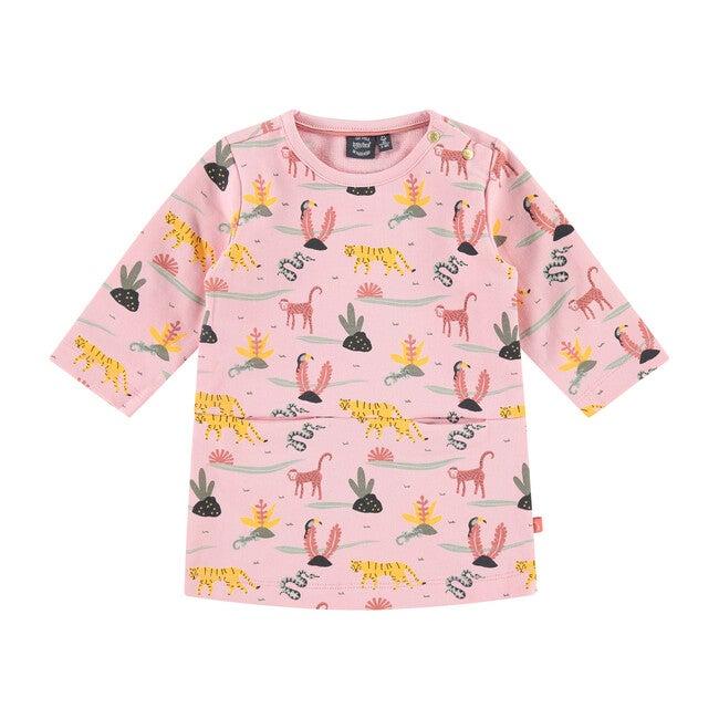 Dress, Pink Print