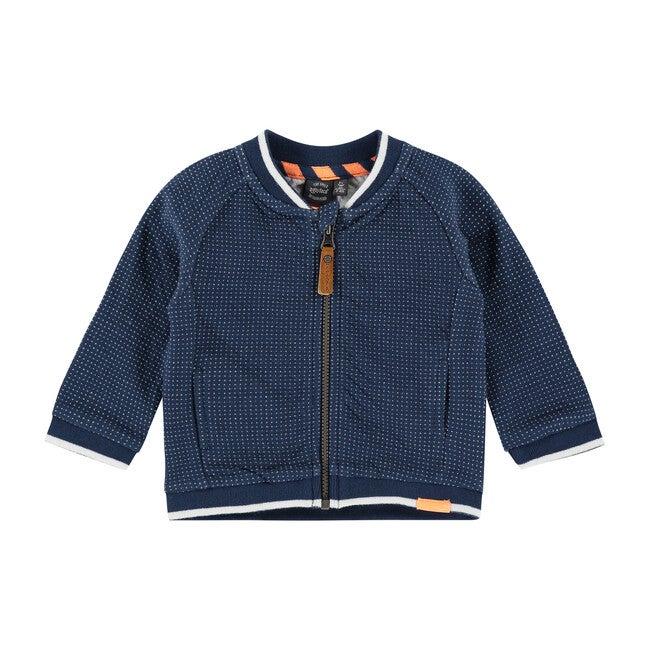 Zip Up Jacket, Navy