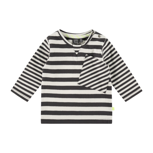 Shirt, Dark Grey Stripes