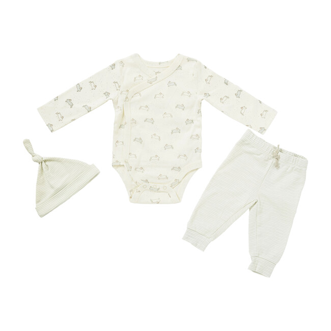 Organic Tiny Bunny One-Piece Set