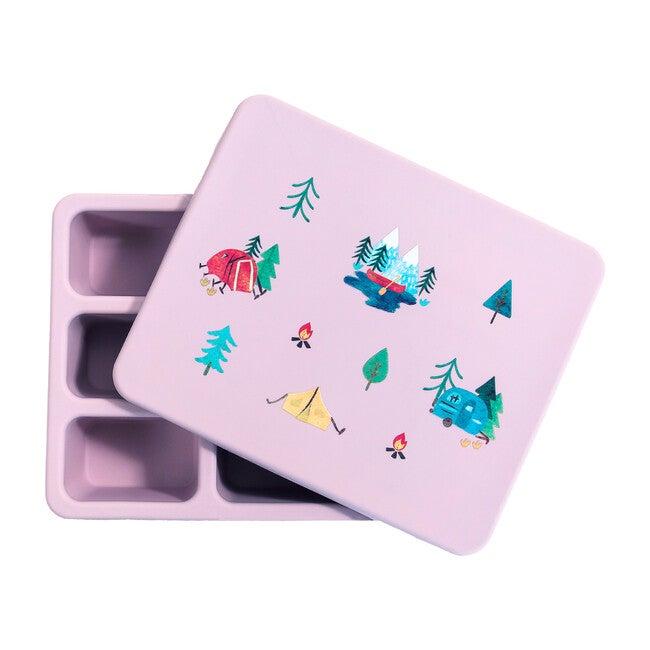 Silicone Bento Box Bundle, Camper Violet