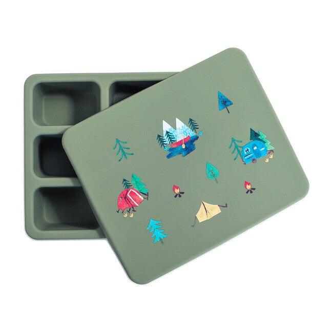Silicone Bento Box Bundle, Camper Sage Green
