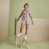Pia Short, Pink Plaid - Shorts - 2