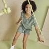 Pia Short, Green Check - Shorts - 4