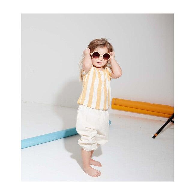 Yellow Striped, Tencel™ Shirt
