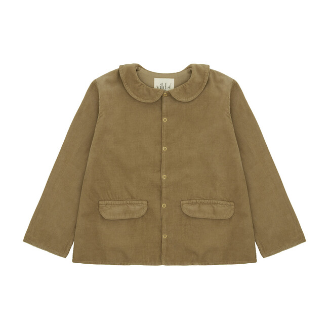 Organic Cotton Corduroy Jacket, Natural Beige