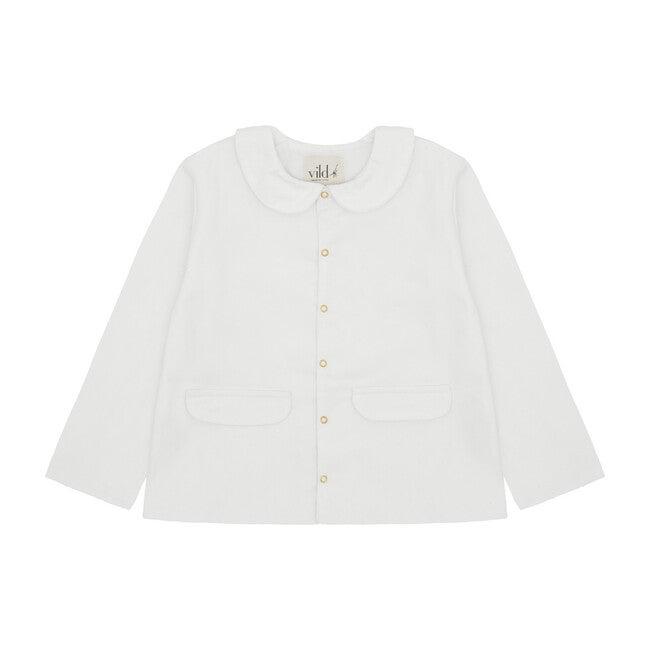 Organic Cotton Corduroy Jacket, Ecru