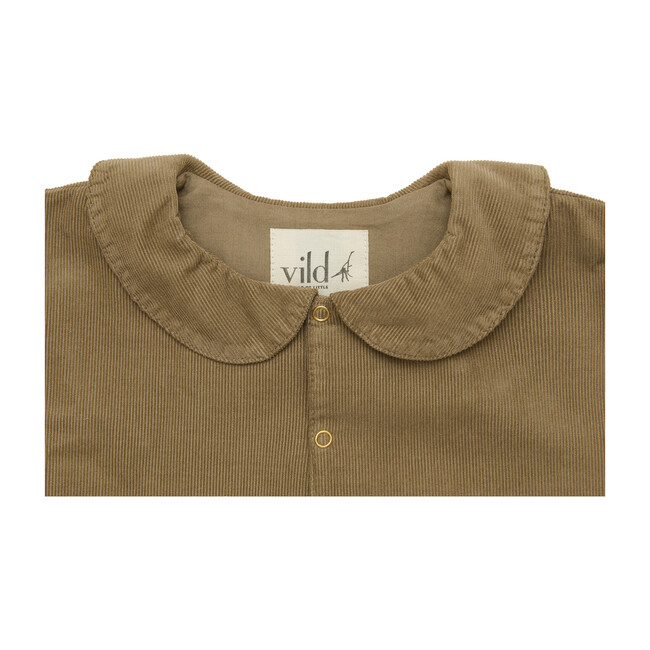 Organic Cotton Corduroy Jacket, Natural Beige