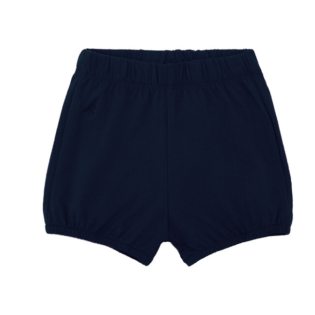 Organic Bloomer Shorts, Nocturnal Navy