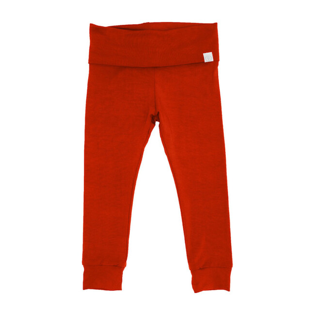 Bamboo Jogger Pants, Red