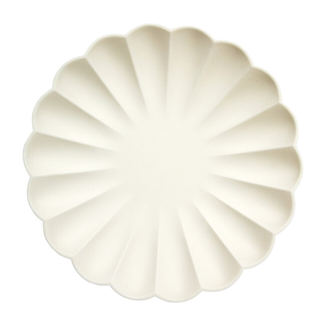 Simply Eco Dinner Plates, Cream - Tableware - 1