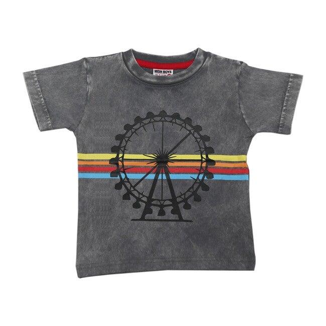 Ferris Wheel Tee, Coal