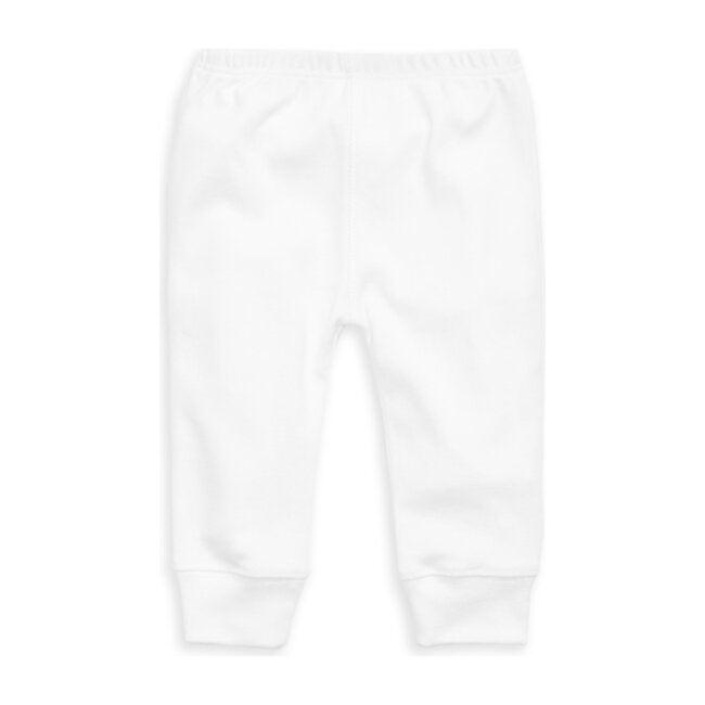Organic Daily Pant, White