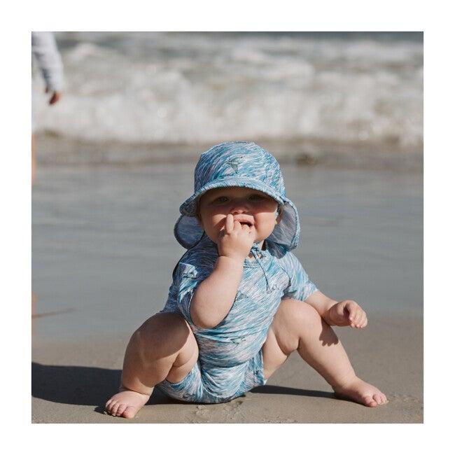 Gustas Swim Hat, Slate Blue