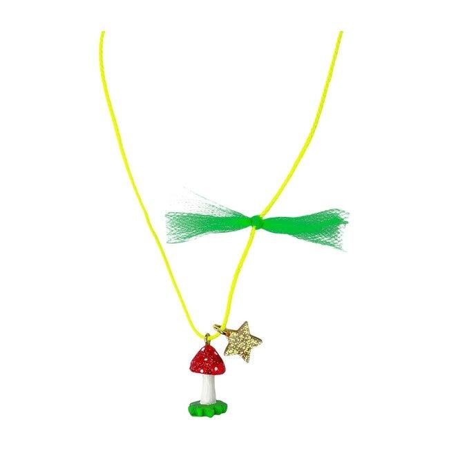 Glitter Mushroom Necklace