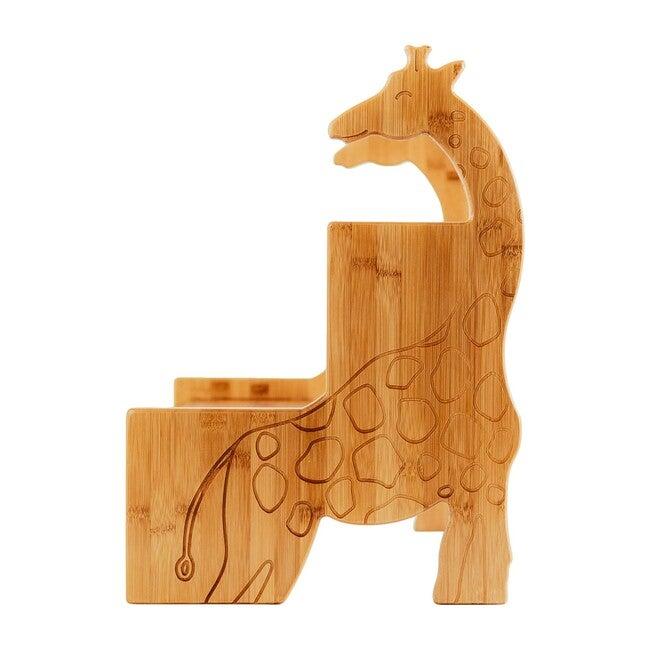 Kids Bamboo Stepstool, Giraffe