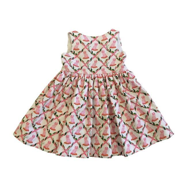 Bow Back Dress, Buffy & Muffy Print
