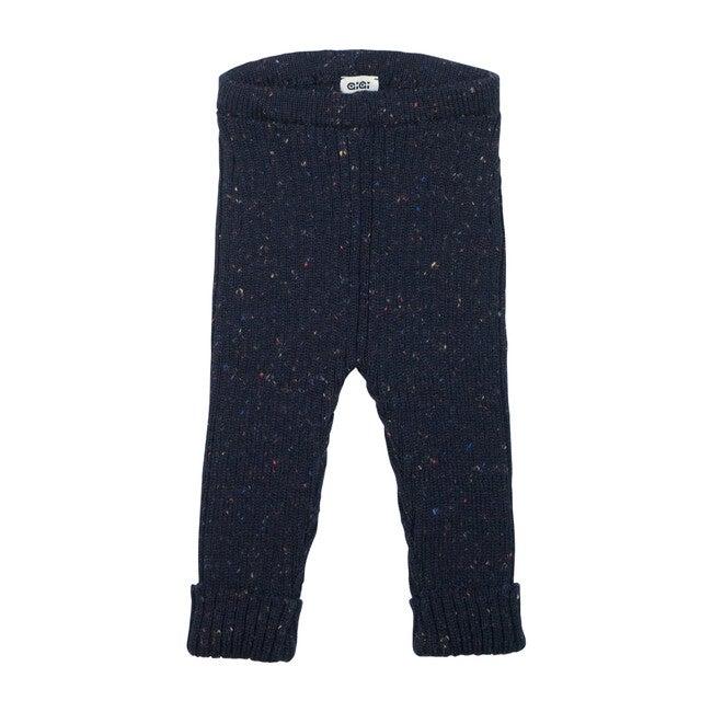 Knit Leggings, Navy