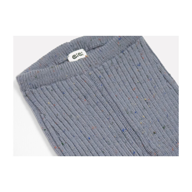 Knit Leggings, Denim Blue
