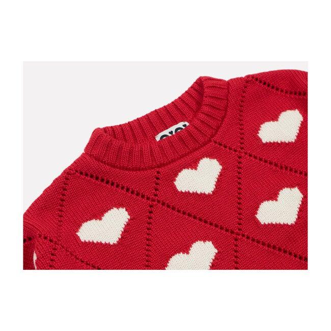 Women's Love Sweater, Red