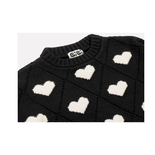 Women's Love Sweater, Black