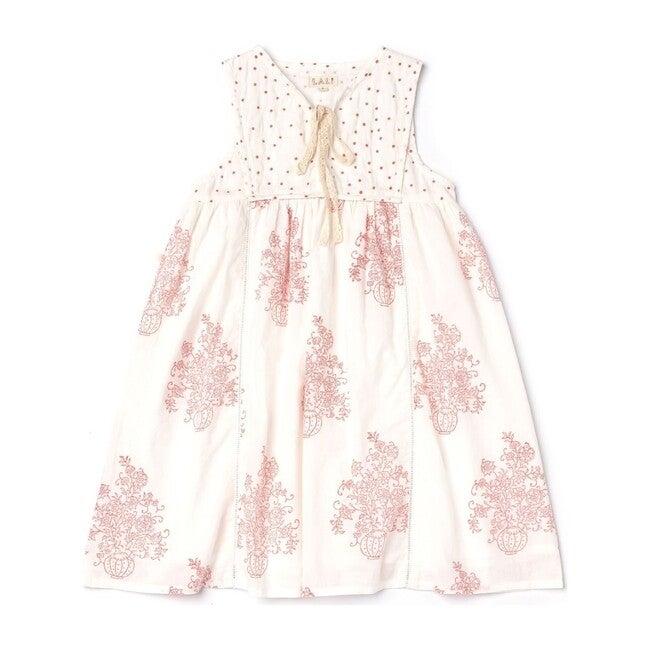 Midi Dress, Flower Pot