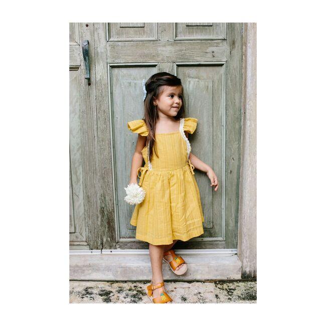 Pinafore Dress, Mustard