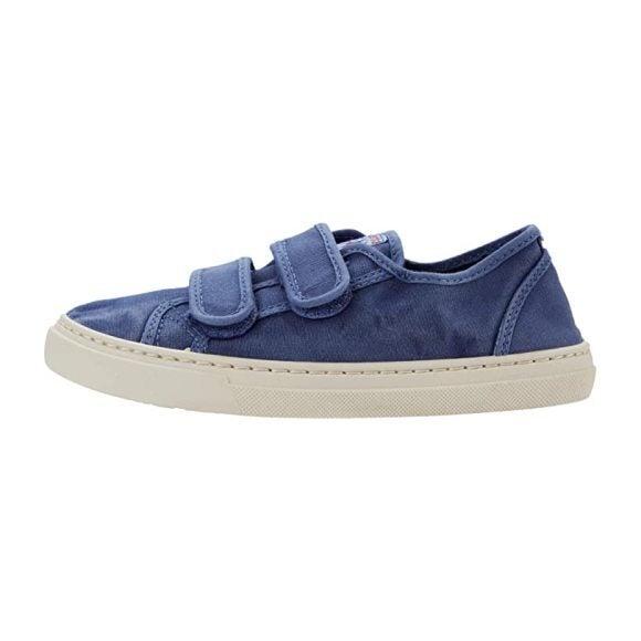 Canvas Sneaker, Navy