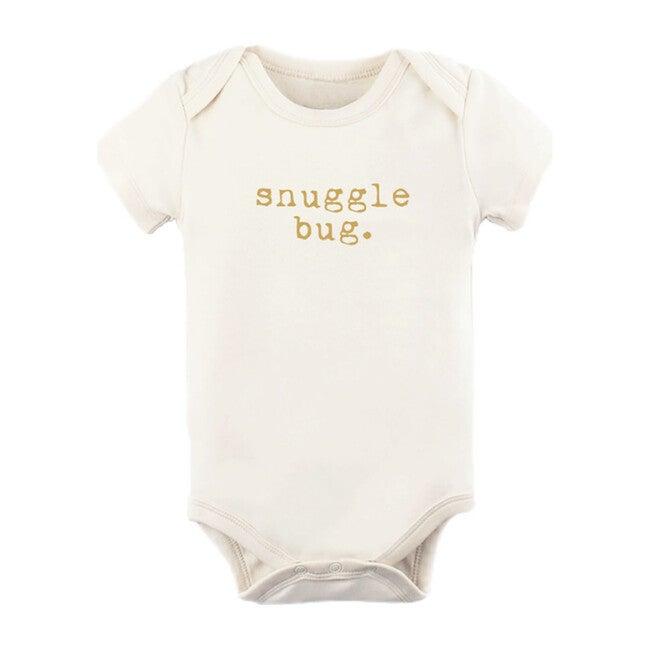 Snuggle Bug Short Sleeve Onesie, Goldenrod