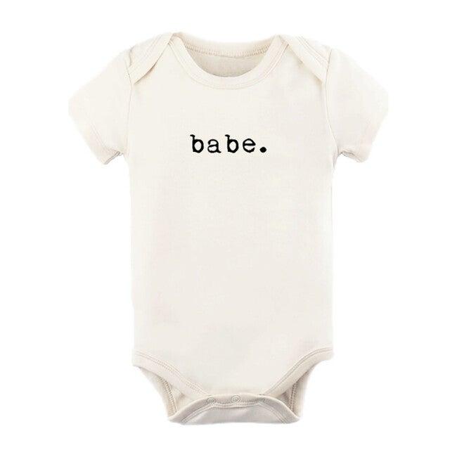 Babe Short Sleeve Onesie, Black