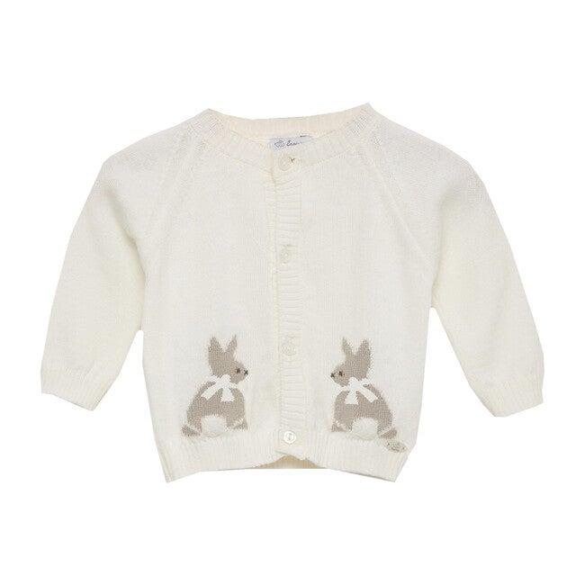 Bunny Cardigan, Off-white