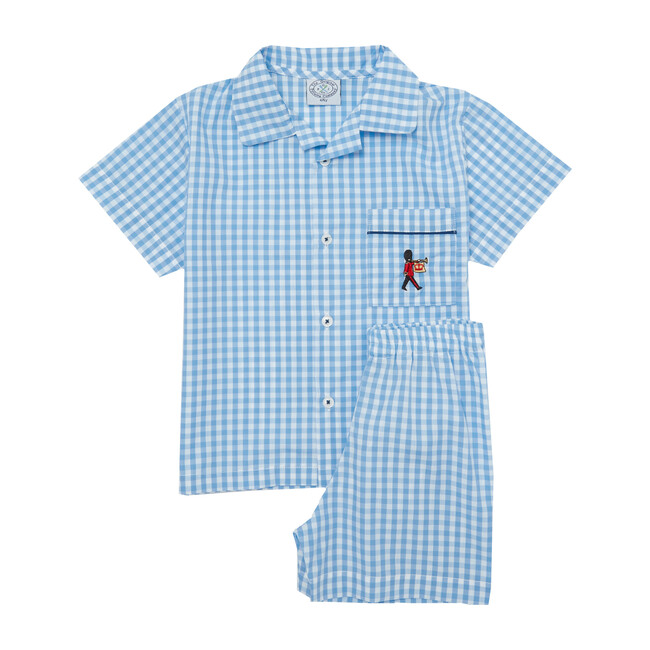 Alfred Pajamas, Pale Blue Gingham