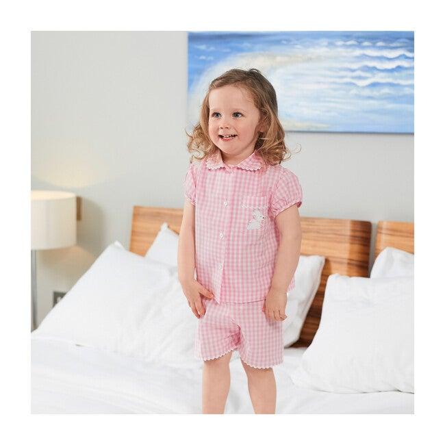 Alexandra Pajamas, Pale Pink Gingham