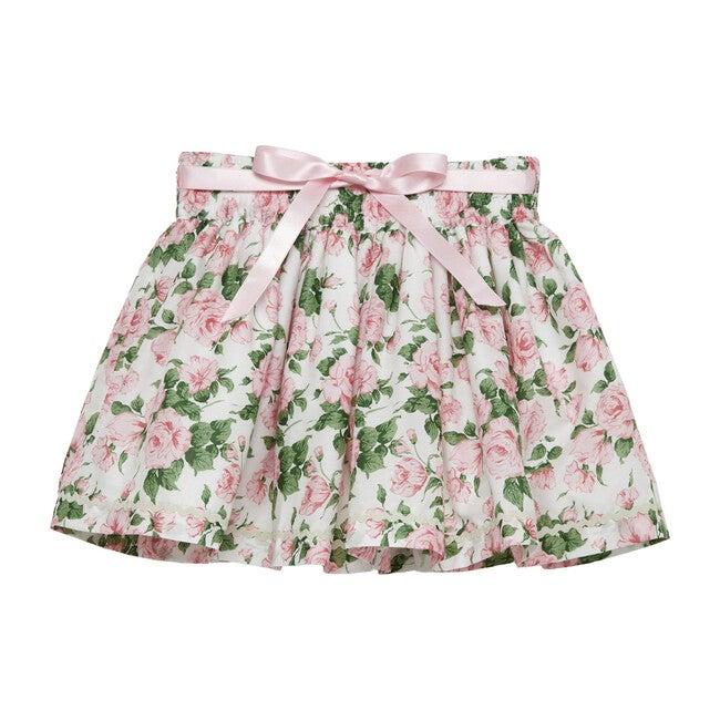 Liberty Carline Rose Skirt, Pale Pink Carline