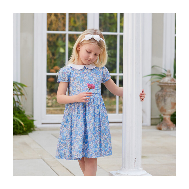 Liberty Blue Betsy Dress, Blue Betsy