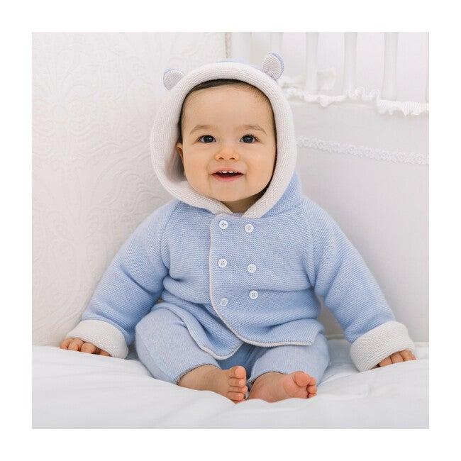 Teddy Coat, Pale Blue