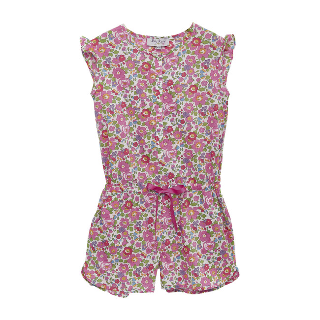 Liberty Betsy Playsuit, Pink Betsy