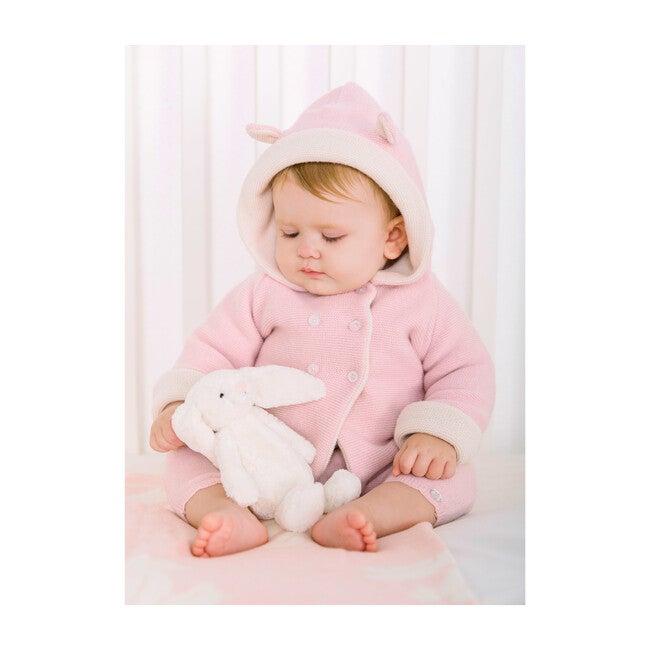 Teddy Coat,  Pale Pink