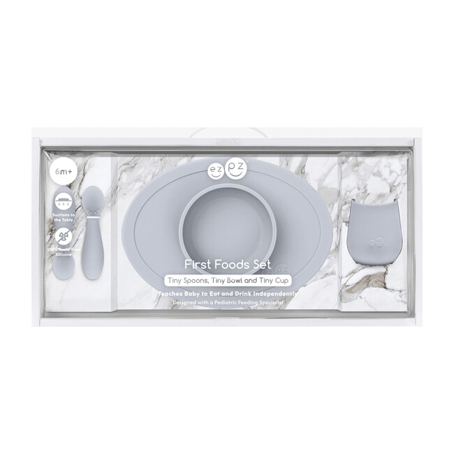First Foods Set, Pewter