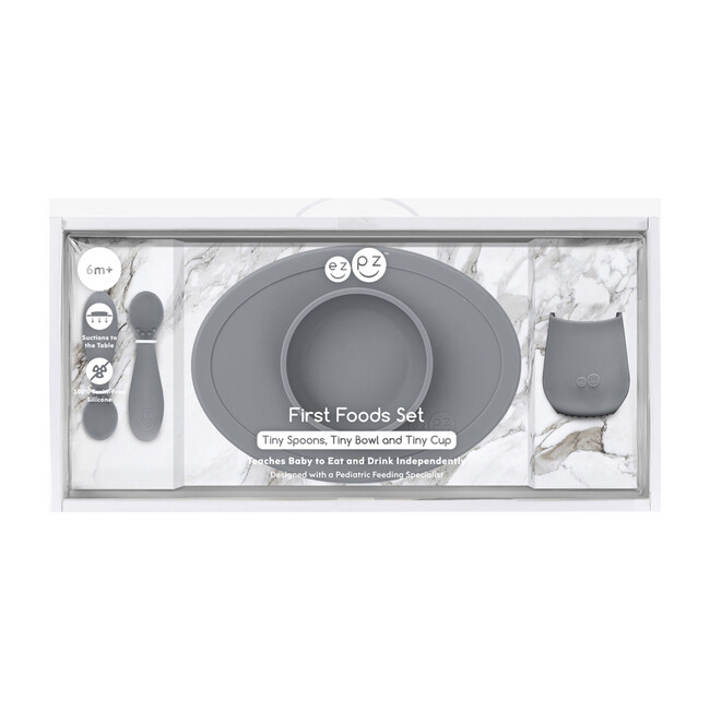 First Foods Set, Gray