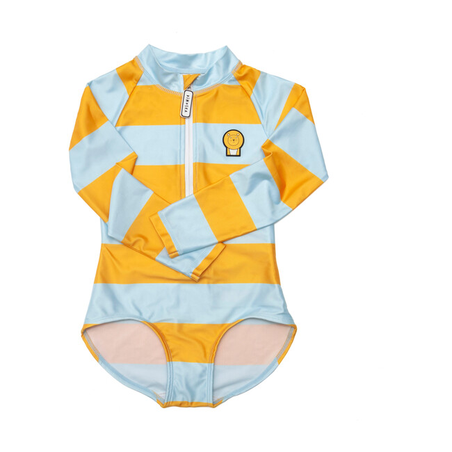 Girl's Cub Swimsuit, Yellow