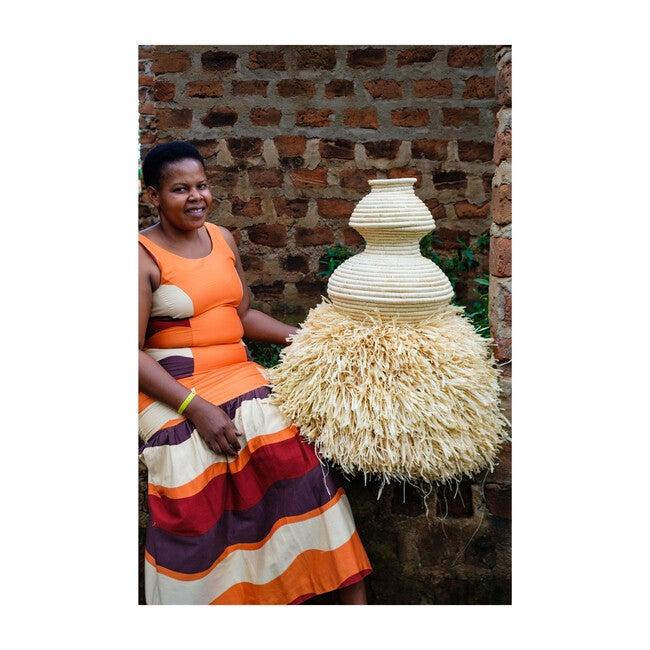 Ngamia Floor Basket, Natural