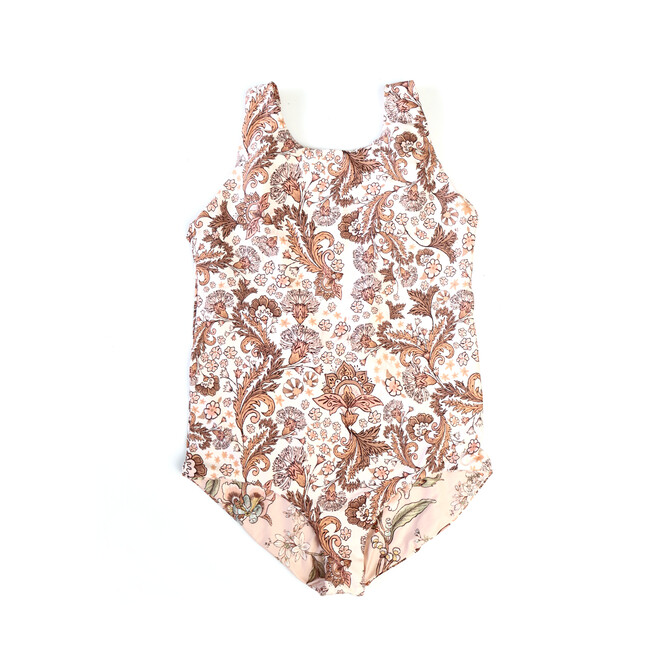Rosea Crema Girl One Piece, Pink