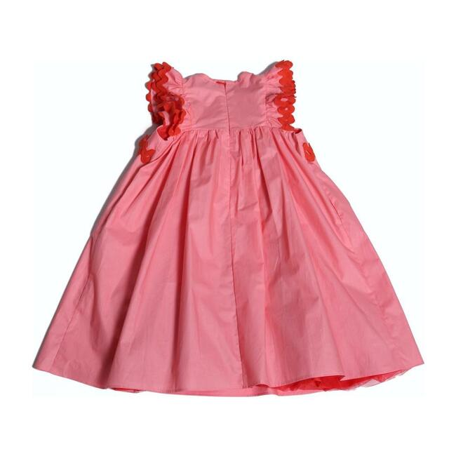 Aida Ruffled Frock, Pink