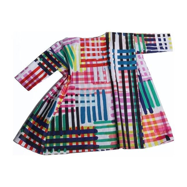 Box Fit Dress, Multi