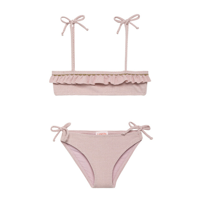Bali Two Piece Bikini, Light Pink - Two Pieces - 1