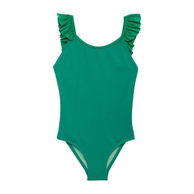 Bora Bora One Piece, Green Tennis - One Pieces - 1