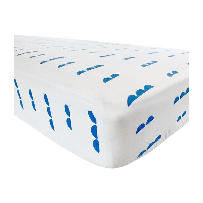 Organic Abacus Crib Sheet, Ocean