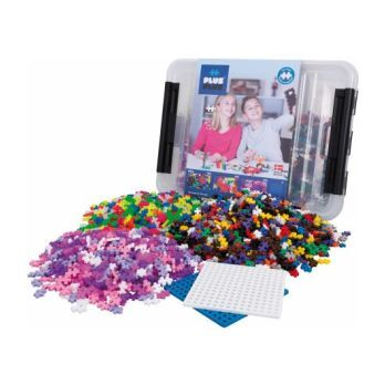 2400-piece All Colors Tub with 2 Baseplates