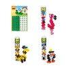 Tube and Basplate Building Toy Set Bundle, Zoo - STEM Toys - 2